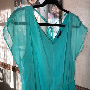 Pretty turquoise dress 👗👗